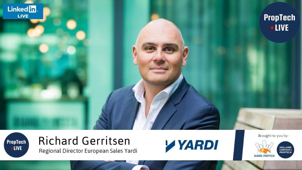 Eerste LinkedIn Live interview met Richard Gerritsen van Yardi!