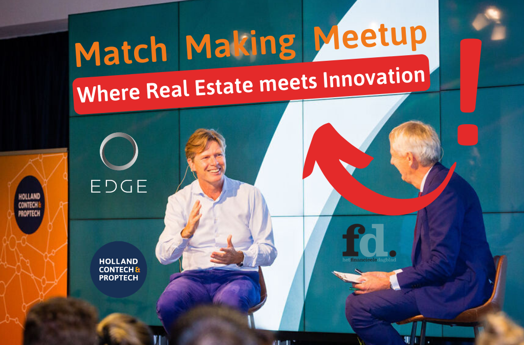 Blog + video | MatchMaking Meetup gehost door EDGE Technologies 2019