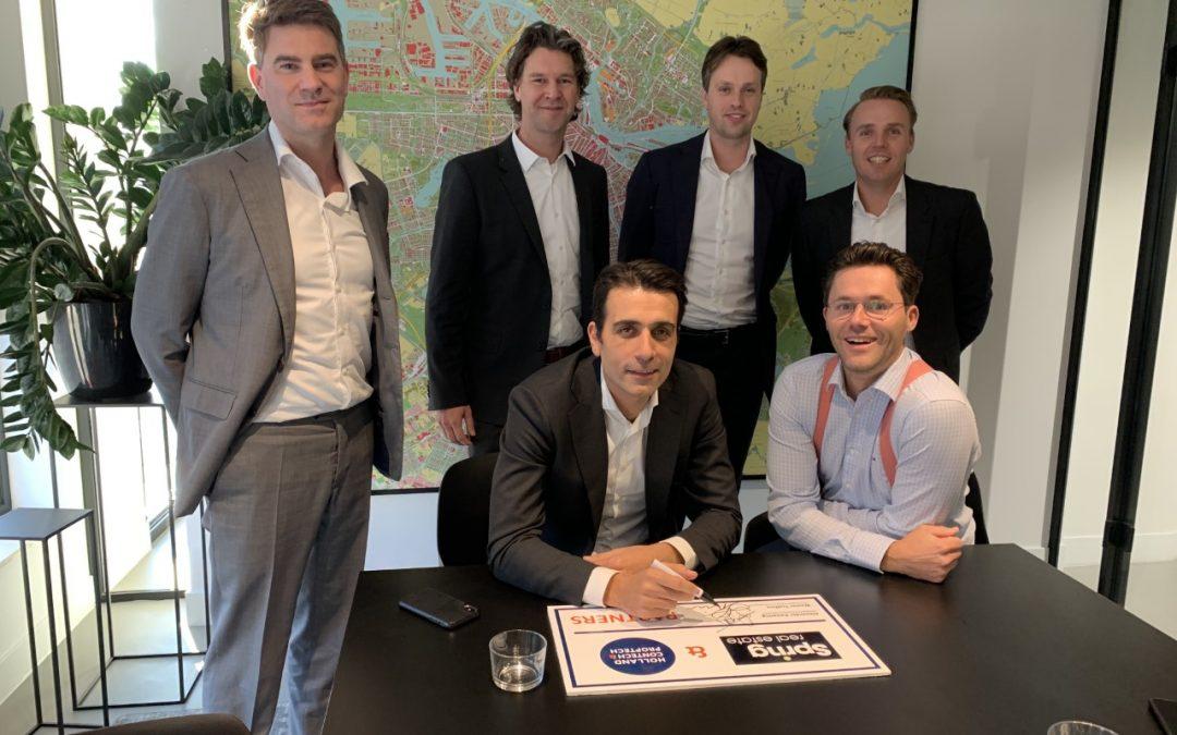 Spring Real Estate en Holland ConTech & PropTech starten partnerschap
