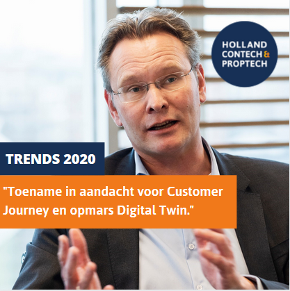 "Trends 2020 | Walter Okhuijsen, Strukton: ""Toename in aandacht voor Customer Journey en opmars Digital Twin"""