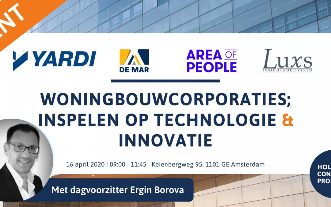 Woningbouwcorporaties; inspelen op technologie en innovatie
