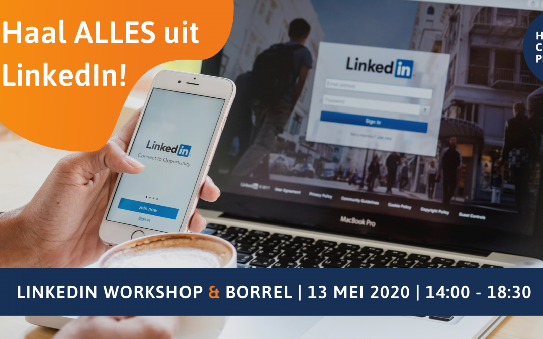 LinkedIn Workshop (inclusief borrel)