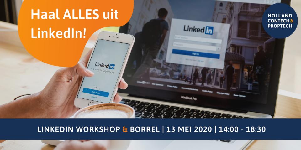 LinkedIn Workshop (inclusief borrel)