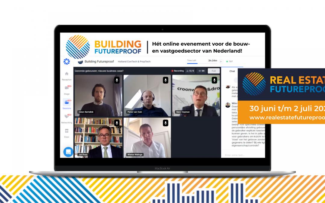 Event | Online beurs Building Futureproof: een groot succes!