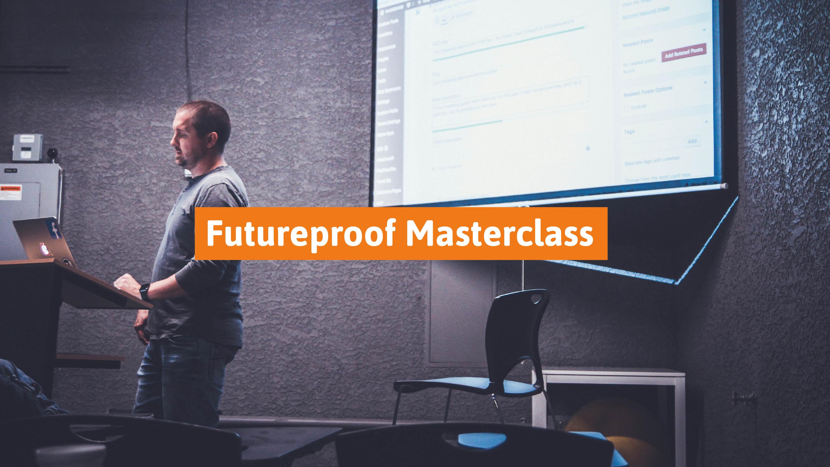 Futureproof Masterclass Holland Contech Proptech