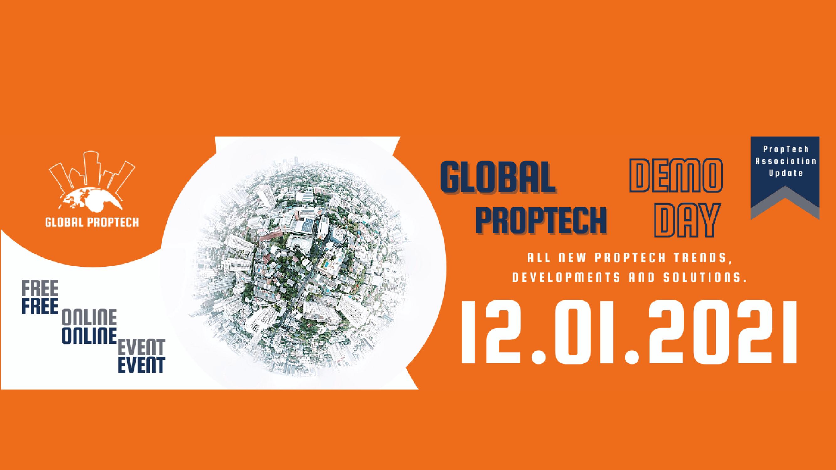Global Proptech Demoday 12 jan